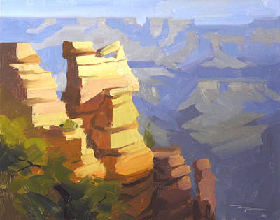 Grand Canyon Art Print by Richard Robinson