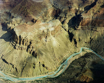Photograph - Grand Canyon River by M K Miller