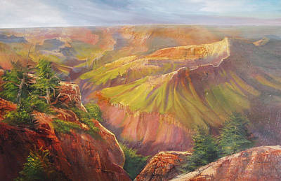 Grand Canyon Art Print by Robert Carver