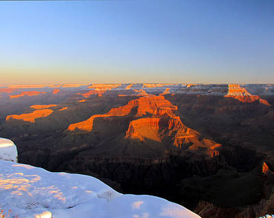 Photograph - Grand Canyon Sunrise by Judy Wanamaker