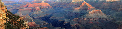 Photograph - Grand Canyon Sunrise Panorama by Pierre Leclerc Photography