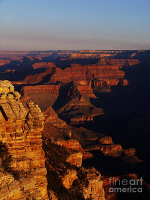 Grand Canyon Sunset Art Print by Holger Ostwald