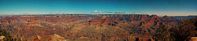 Photograph - Grand Canyon Vista by Lou  Novick