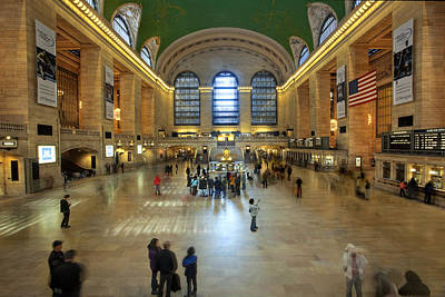 Photograph - Grand Central by Al Hurley
