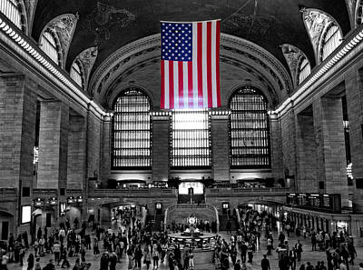 Photograph - Grand Central Station by Bennie Reynolds
