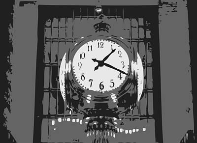 Grand Central Station Bw3 Art Print