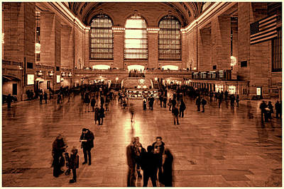 Photograph - Grand Central Terminal by Chris Lord