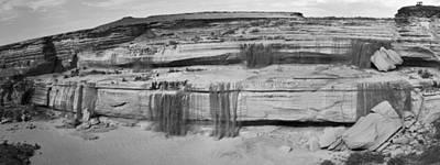 Photograph - Grand Falls Pano 1 by Scott Sawyer