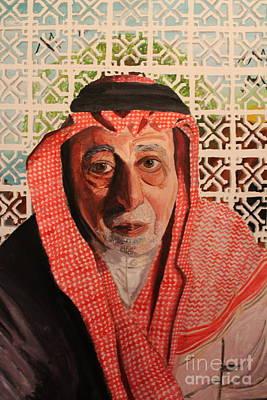 Grand Father Print by Betul Salman