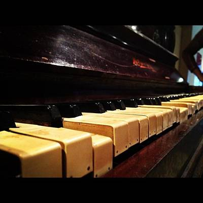 Piano Photograph - Grand Gran Piano.. #piano #iphone4s by Ippe Fifty