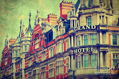 Photograph - Grand Hotel by Yhun Suarez