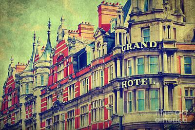 Photograph - Grand Hotel by Yhun Suarez