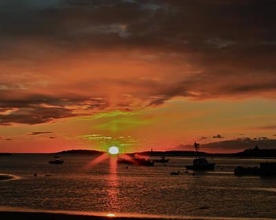 Photograph - Grand Sunrise At Ellis  by Jeremy McKay