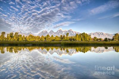 Teton Wall Art - Photograph - Grand Teton Reflections Jackson Hole by Dustin K Ryan