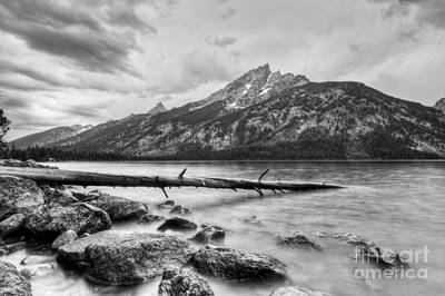 Grand Tetons Above Jenny Lake Jackson Hole Art Print
