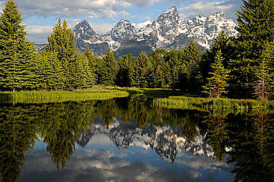 Photograph - grand tetons I by Diana Douglass