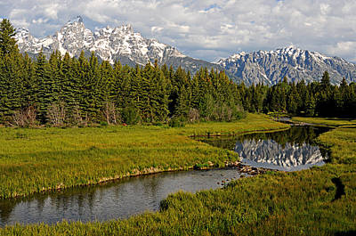 Photograph - grand tetons II by Diana Douglass