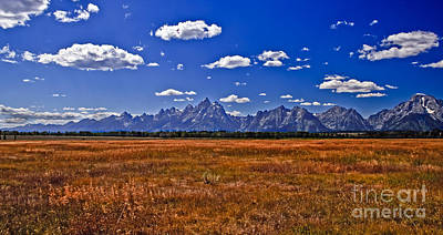 Grand Tetons  Mountains Art Print by Robert Bales
