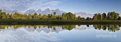 Teton Wall Art - Photograph - Grand Tetons Panoramic by Dustin K Ryan