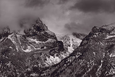 Teton Wall Art - Photograph - Grand Tetons by Steve Gadomski
