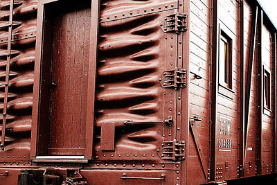 Photograph - Grand Trunk Western Track Foreman's Bunk Car by Scott Hovind