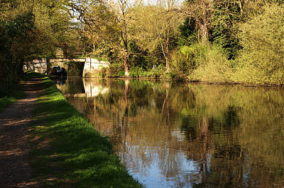Photograph - Grand Union Canal Near Denham by Chris Day