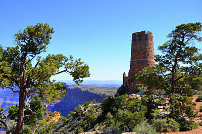Photograph - Grand View Watchtower by Paul Mashburn