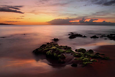 The Rolling Stones Royalty Free Images - Grand Wailea sunset Royalty-Free Image by Pierre Leclerc Photography