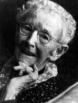 Grandma Moses 1860-1961, Renowned Art Print by Everett