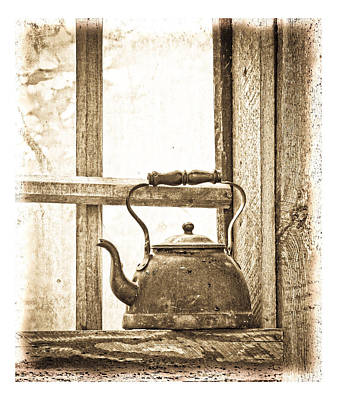 Photograph - Grandma's Kettle by Steve McKinzie