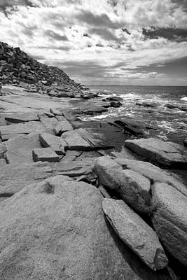 Photograph - Granite Shore by Jason Smith