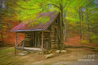 Guns Arms And Weapons - Grannys Little Cabin by Anne Kitzman