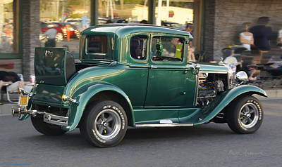 Photograph - Grants Pass 2012 Cruise - Rumble Seat Open by Mick Anderson