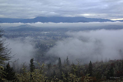 Art Print featuring the photograph Grants Pass Weather by Mick Anderson