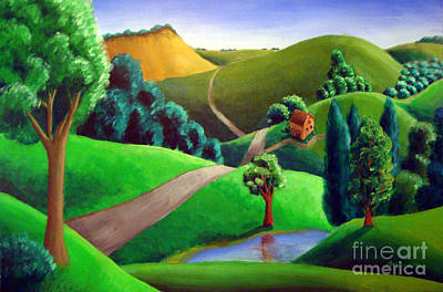 Wall Art - Painting - Grantwoodland by Michael Ivy
