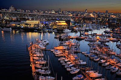 Photograph - Granville Island Market by Lawrence Christopher