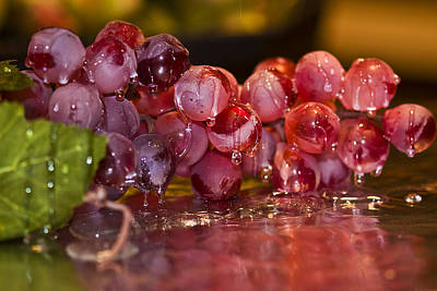 Photograph - Grape Juice by Trudy Wilkerson