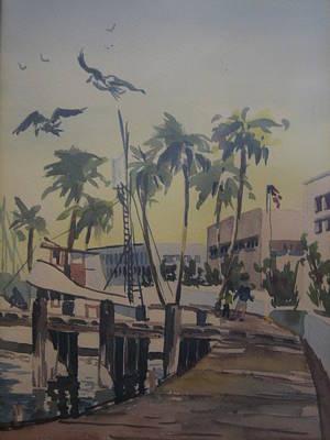 Painting - Grape Street by Barbara Prestridge
