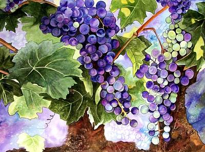 Painting - Grape Vines by Karen Casciani