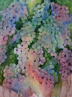 Painting - Grapes Galore by Linda Bein