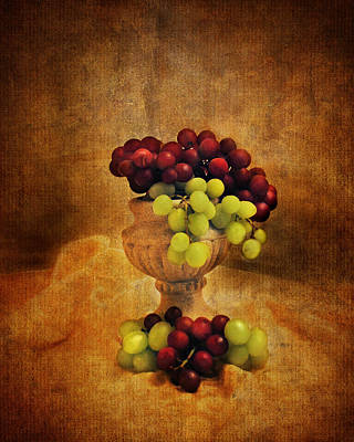 Photograph - Grapes by Jai Johnson