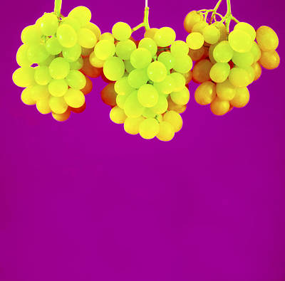 Bunch Of Grapes Photograph - Grapes by Johnny Greig