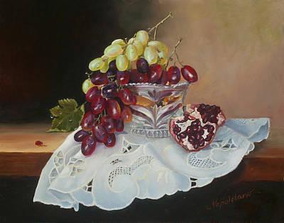 Grapes Original by Larisa Napoletano