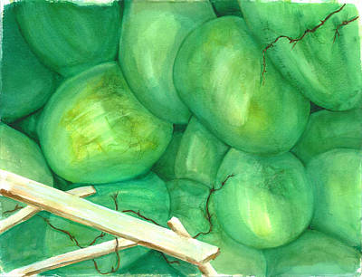 Painting - Grapes Of Writhe by Rhonda Hancock