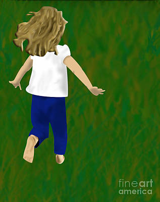 Digital Art - Grass Under My Feet by Melissa Stinson-Borg