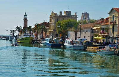 Photograph - Grau Du Roi - The Canal by Dany Lison
