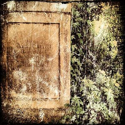 Norfolk Photograph - Grave #cemetery #grave #stone #tree by Invisible Man