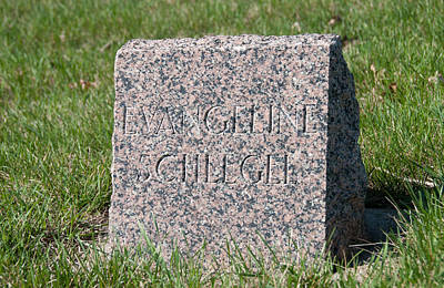 Photograph - Grave Marker by Guy Whiteley