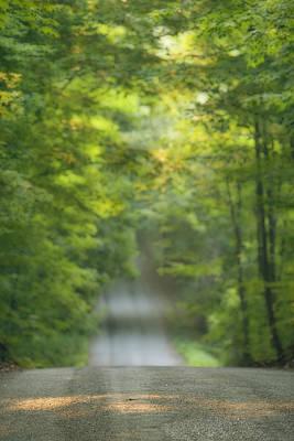 Gravel Road Photograph - Gravel Road, Niagara Region, Pelham by Darwin Wiggett