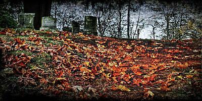 Graveyard Digital Art - Graves  by DMSprouse Art